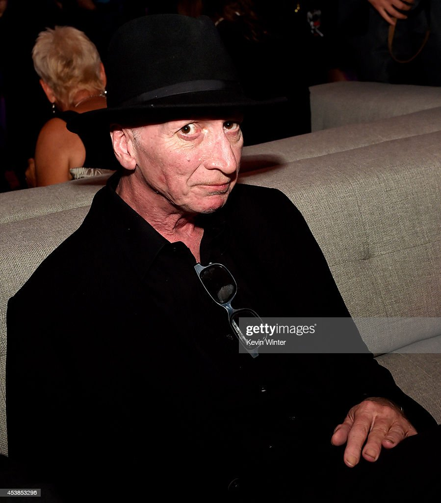 Writer/director Frank Miller poses at the after party for the premiere of Dimension Films' 'Sin City: A Dame To Kill For' at the Roosevelt Hotel on August 19, 2014 in Los Angeles, California.