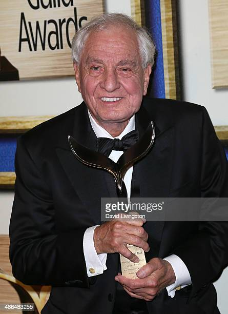 Writer/director Gary Marshall attends the press room at the 2014 Writers Guild Awards LA Ceremony at JW Marriott Los Angeles at LA LIVE on February 1...