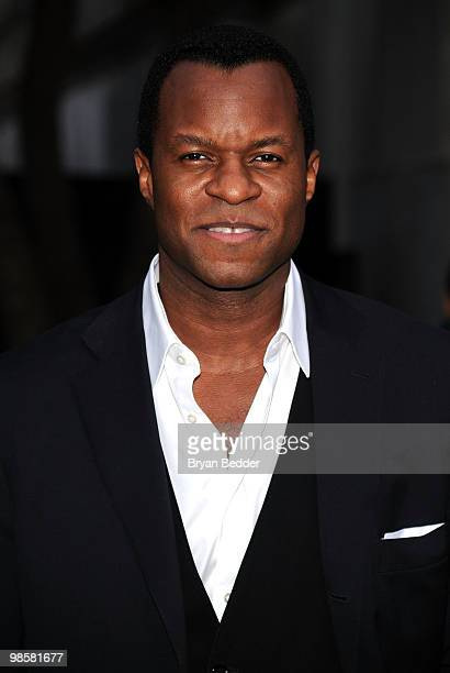 Writer/director Geoffrey Fletcher attends the Vanity Fair party before the 2010 Tribeca Film Festival at the New York State Supreme Court on April 20...
