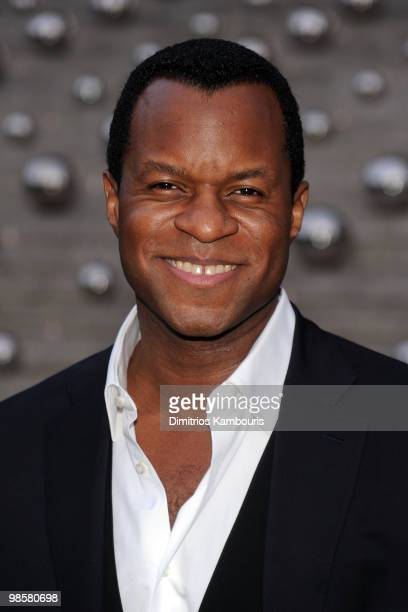 Writer/director Geoffrey Fletcher attends the Vanity Fair Party during the 9th Annual Tribeca Film Festival at the New York State Supreme Court on...