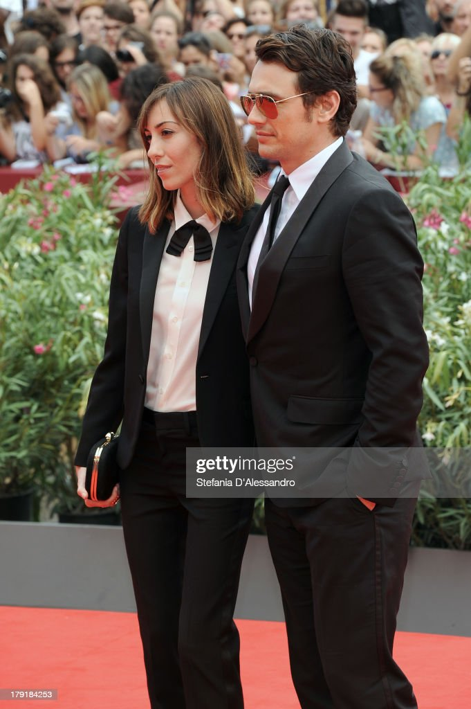 Writer/Director Gia Coppola andd actor/writer James Franco attend 'Palo Alto' Premiere during the 70th Venice International Film Festival at Sala...