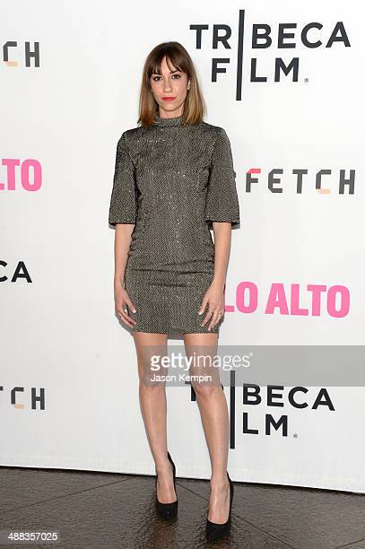 Writer/director Gia Coppola attends the premiere of Tribeca Film's 'Palo Alto' at Directors Guild Of America on May 5 2014 in Los Angeles California