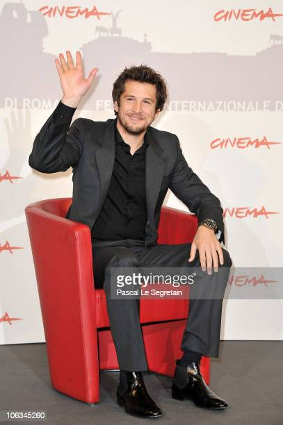 Writer/director Guillaume Canet poses at the 'Little White Lies' photocall during The 5th International Rome Film Festival at Auditorium Parco Della...