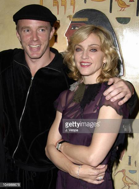 Writer/director Guy Ritchie and Madonna during 'Swept Away' Screening at Vista Theatre in Los Angeles California United States