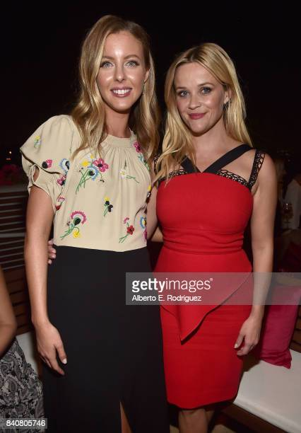 Writer/director Hallie MeyersShyer and actress Reese Witherspoon attend the after party for the premiere of Open Road Films' 'Home Again' at the DGA...