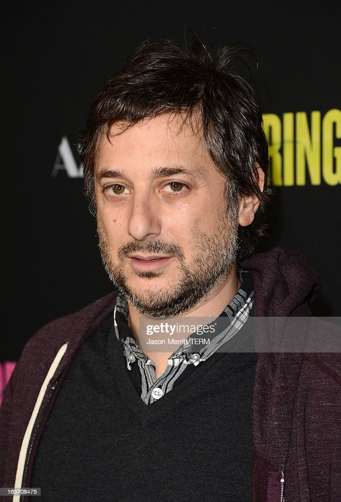 Writer/Director <a gi-track='captionPersonalityLinkClicked' href=/galleries/search?phrase=Harmony+Korine&family=editorial&specificpeople=2613576 ng-click='$event.stopPropagation()'>Harmony Korine</a> attends the 'Spring Breakers' premiere at ArcLight Cinemas on March 14, 2013 in Hollywood, California.