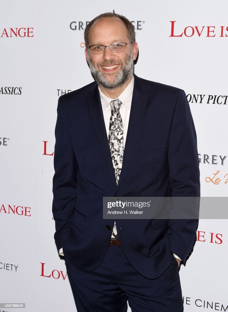 Writer/director <a gi-track='captionPersonalityLinkClicked' href=/galleries/search?phrase=Ira+Sachs&family=editorial&specificpeople=2260924 ng-click='$event.stopPropagation()'>Ira Sachs</a> attends the Sony Pictures Classics with The Cinema Society & Grey Goose screening of 'Love is Strange' at Tribeca Grand Hotel on August 18, 2014 in New York City.