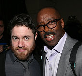 Writer/director Jacob Bernstein and actor Courtney B Vance attend a reception following the premiere of HBO's 'Everything Is Copy' at The Roosevelt...