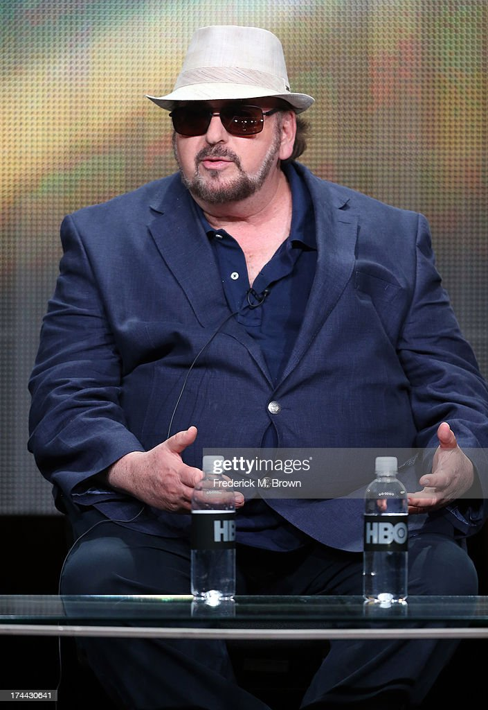 Writer/Director <a gi-track='captionPersonalityLinkClicked' href=/galleries/search?phrase=James+Toback&family=editorial&specificpeople=233479 ng-click='$event.stopPropagation()'>James Toback</a> speaks onstage during the 'Seduced and Abandoned' panel discussion at the HBO portion of the 2013 Summer Television Critics Association tour - Day 2 at the Beverly Hilton Hotel on July 25, 2013 in Beverly Hills, California.