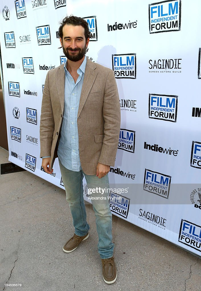 Writer/Director Jay Duplass attends the Film Independent Film Forum at Directors Guild of America on October 21, 2012 in Los Angeles, California.