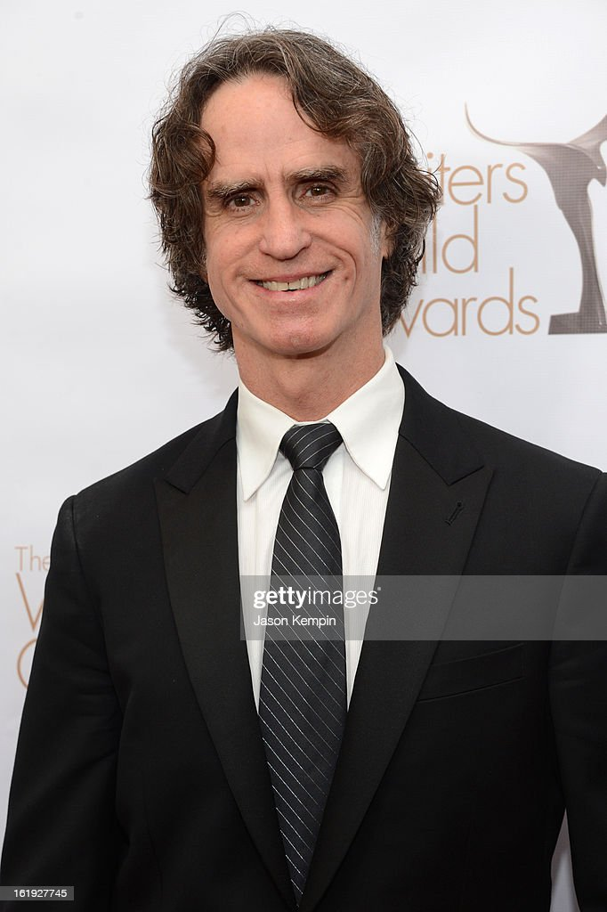 Writer/director <a gi-track='captionPersonalityLinkClicked' href=/galleries/search?phrase=Jay+Roach&family=editorial&specificpeople=2576157 ng-click='$event.stopPropagation()'>Jay Roach</a> arrives at the 2013 WGAw Writers Guild Awards at JW Marriott Los Angeles at L.A. LIVE on February 17, 2013 in Los Angeles, California.
