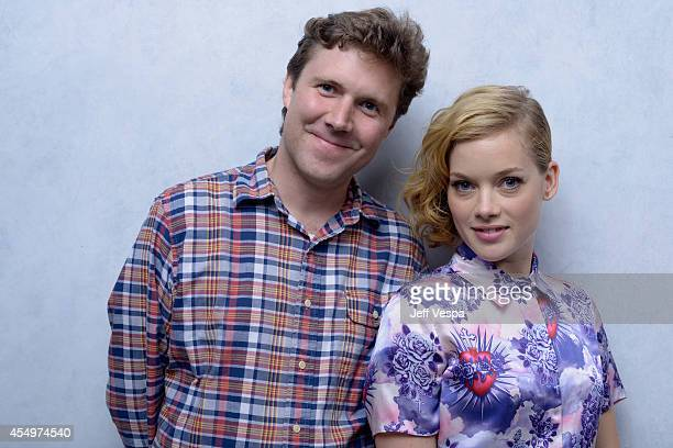 Writer/director Jeffrey St Jules and actress Jane Levy of 'Bang Bang Baby' pose for a portrait during the 2014 Toronto International Film Festival on...