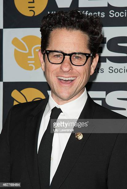 Writer/director JJ Abrams arrives at The 13th Annual VES Awards at The Beverly Hilton Hotel on February 4 2015 in Beverly Hills California