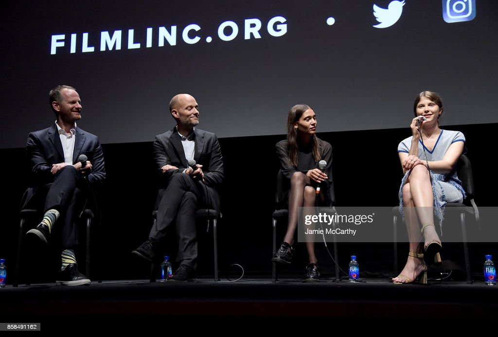 Writer/director Joachim Trier,co-writer Eskil Vogt,Kaya Wilkins and Eili Harboe attend the 55th New York Film Festival - 'Thelma' at Alice Tully Hall on October 6, 2017 in New York City.