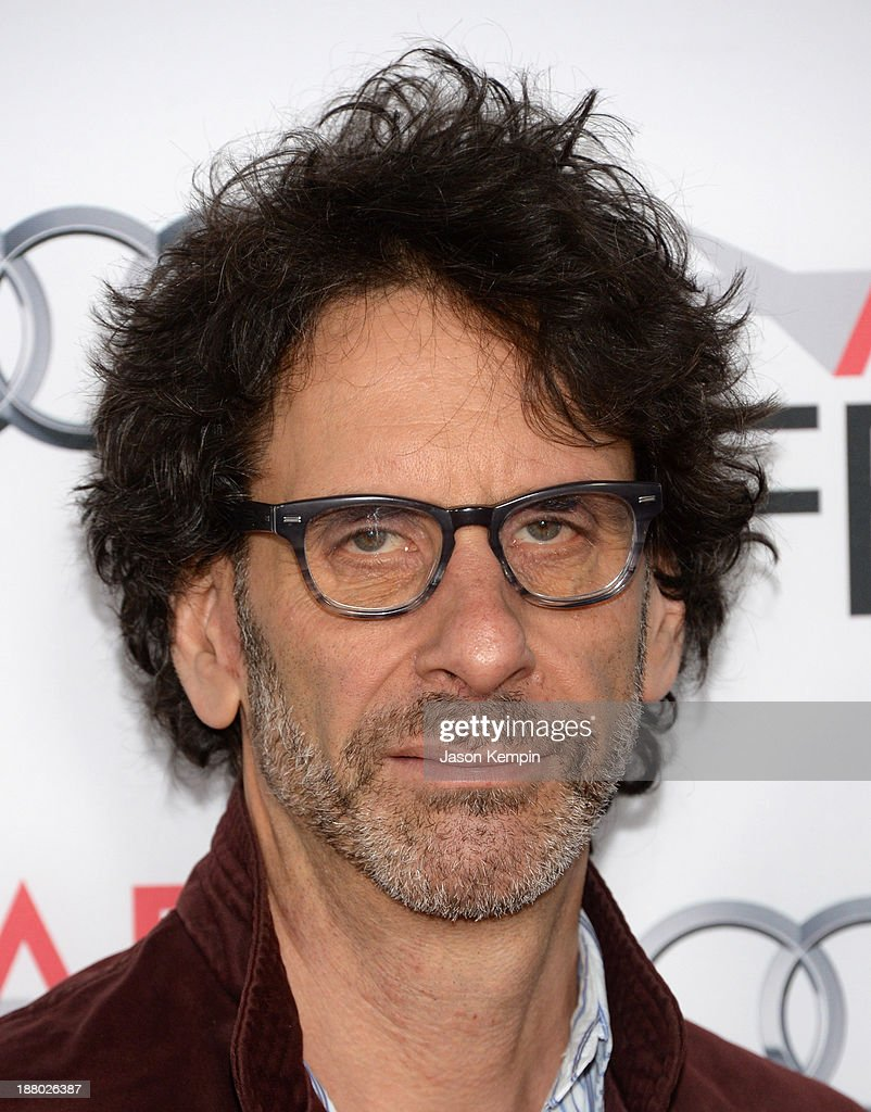 Writer/director Joel Coen attends the AFI FEST 2013 presented by Audi closing night gala screening of 'Inside Llewyn Davis' at TCL Chinese Theatre on...