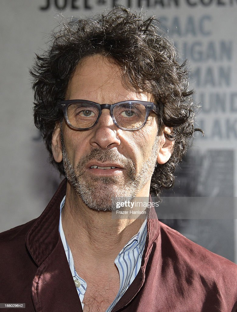 Writer/director <a gi-track='captionPersonalityLinkClicked' href=/galleries/search?phrase=Joel+Coen&family=editorial&specificpeople=4292064 ng-click='$event.stopPropagation()'>Joel Coen</a> attends the AFI FEST 2013 presented by Audi closing night gala screening of 'Inside Llewyn Davis' at TCL Chinese Theatre on November 14, 2013 in Hollywood, California.