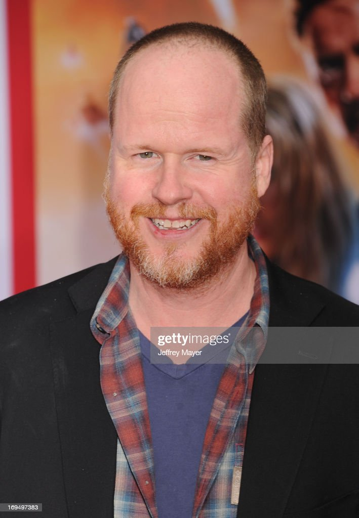 Writer/director Joss Whedon arrives at the Los Angeles Premiere of 'Iron Man 3' at the El Capitan Theatre on April 24 2013 in Hollywood California