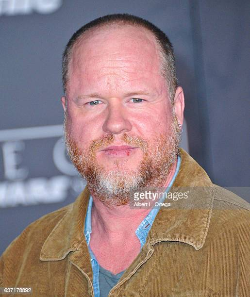 Writer/director Joss Whedon arrives for the Premiere Of Walt Disney Pictures And Lucasfilm's 'Rogue One A Star Wars Story' held at the Pantages...