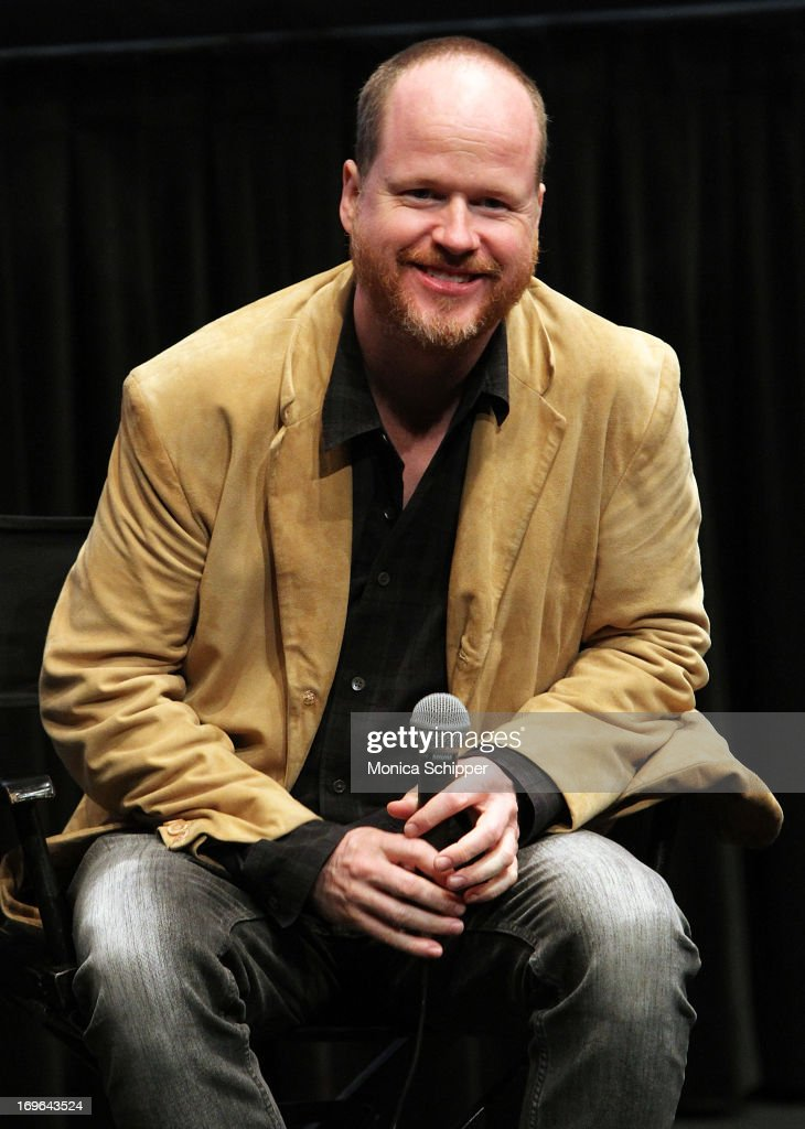 Writer/Director Joss Whedon attends An Evening With Joss Whedon at The Film Society of Lincoln Center Walter Reade Theatre on May 29 2013 in New York...