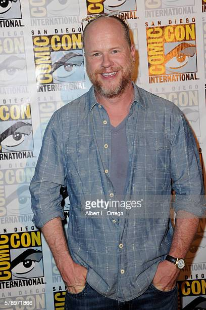 Writer/director Joss Whedon attends Dark Horse Conversations With Joss Whedon during ComicCon International 2016 at San Diego Convention Center on...