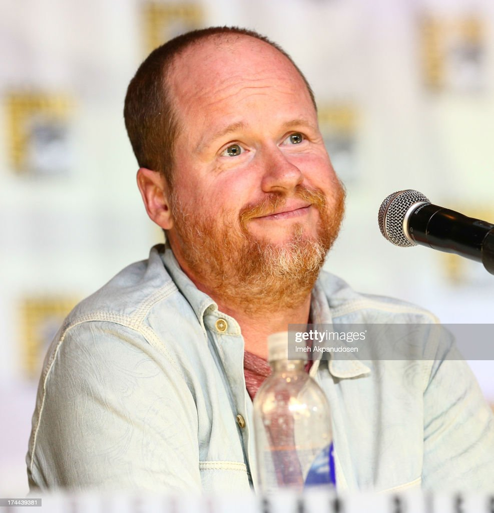 Writer/director Joss Whedon attends the 'Marvel's Agents of SHIELD On ABC' panel during ComicCon International 2013 at San Diego Convention Center on...