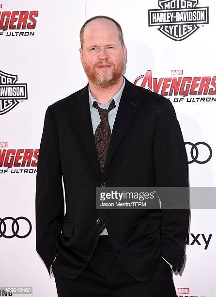 Writer/Director Joss Whedon attends the premiere of Marvel's 'Avengers Age Of Ultron' at Dolby Theatre on April 13 2015 in Hollywood California