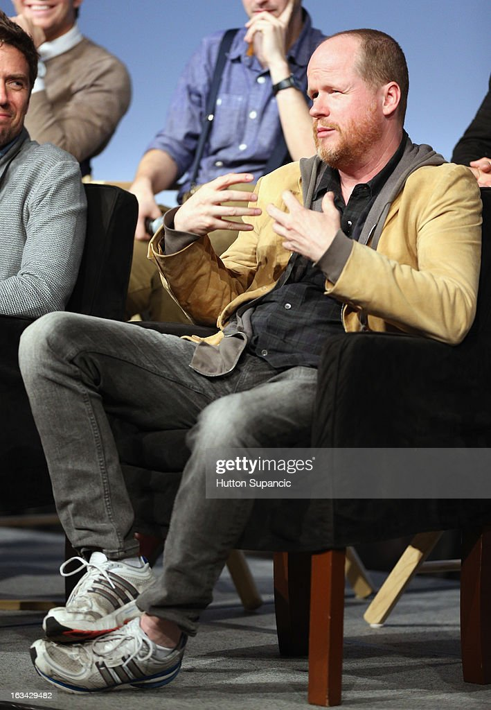 Writer/director Joss Whedon speaks onstage at the Much Ado About Much Ado Panel during the 2013 SXSW Music, Film + Interactive Festival at Austin Convention Center on March 9, 2013 in Austin, Texas.