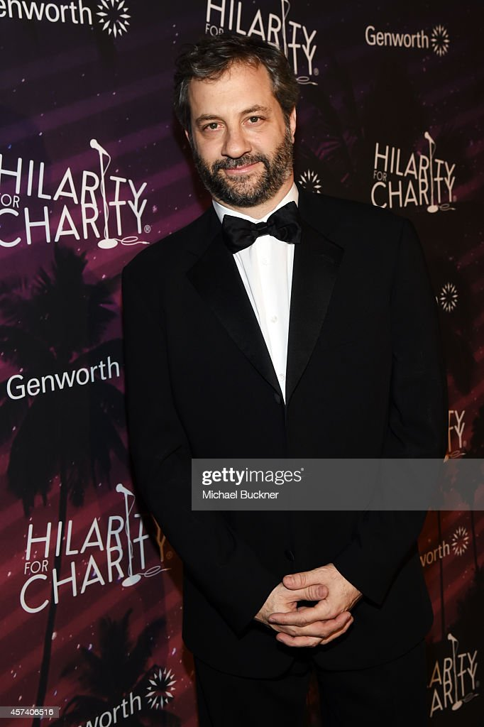 Writer/director Judd Apatow attends the 3rd Annual Hilarity for Charity Variety Show to benefit the Alzheimer's Association presented by Genworth at...