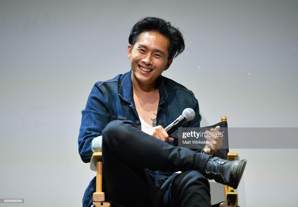 Writer/director Justin Chon speaks on stage during the 2017 Sundance NEXT FEST at The Theater at The Ace Hotel on August 12, 2017 in Los Angeles, California.