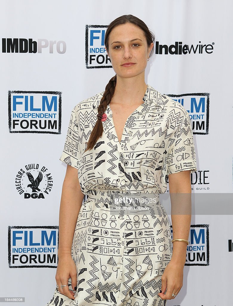Writer/Director Katherine Fairfax Wright attends the Film Independent Film Forum at Directors Guild of America on October 20, 2012 in Los Angeles, California.