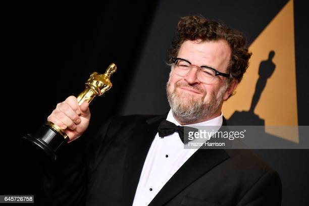 Writer/director Kenneth Lonergan winner of the Best Original Screenplay award for 'Manchester by the Sea' poses in the press room during the 89th...