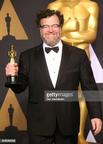 Writer/director Kenneth Lonergan winner of the Best Original Screenplay award for 'Manchester by the Sea' poses in the press room at the 89th Annual...
