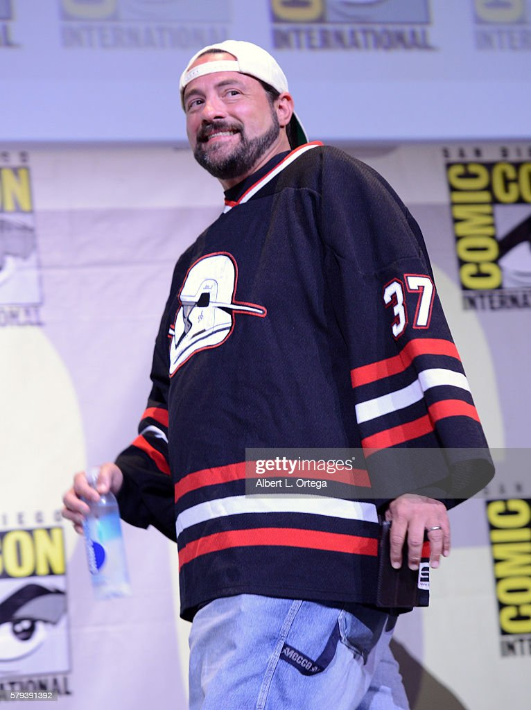 Writer/director Kevin Smith attends the Kevin Smith Panel during ComicCon International 2016 at San Diego Convention Center on July 23 2016 in San...