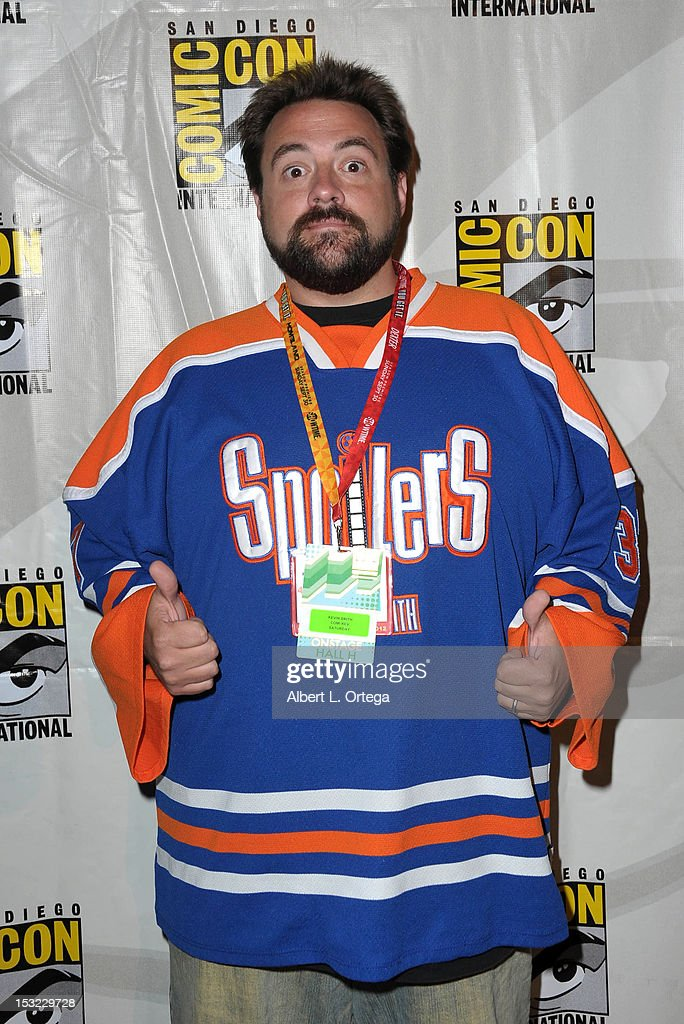 Writer/director <a gi-track='captionPersonalityLinkClicked' href=/galleries/search?phrase=Kevin+Smith+-+Film+Director&family=editorial&specificpeople=5102286 ng-click='$event.stopPropagation()'>Kevin Smith</a> participates in Comi-Kev: Q&A With <a gi-track='captionPersonalityLinkClicked' href=/galleries/search?phrase=Kevin+Smith+-+Film+Director&family=editorial&specificpeople=5102286 ng-click='$event.stopPropagation()'>Kevin Smith</a>l - Comic-Con International 2012 held at San Diego Convention Center on July 14, 2012 in San Diego, California.