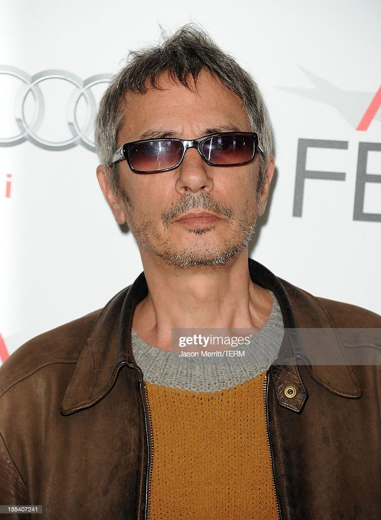 Writer/director Leos Carax arrives at the 'Holy Motors' special screening during the 2012 AFI Fest at Grauman's Chinese Theatre on November 3, 2012 in Hollywood, California.