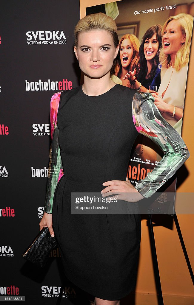 Writer/Director Leslye Headland attends the 'Bachelorette' New York Premiere at Landmark's Sunshine Cinema on September 4, 2012 in New York City.