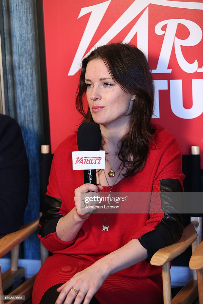 Writer/director Liz W. Garcia attends Day 3 of the Variety Studio At 2013 Sundance Film Festival on January 21, 2013 in Park City, Utah.