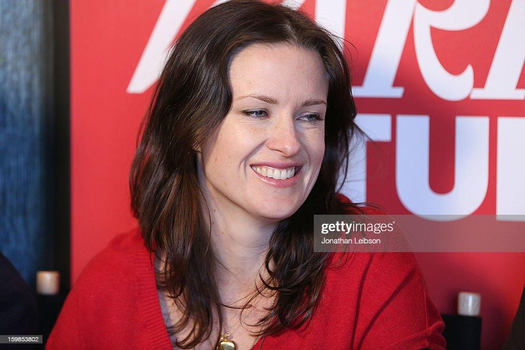 Writer/director Liz W. Garcia attends Day 3 of the Variety Studio At 2013 Sundance Film Festival on January 21, 2013 in Park City, Utah.