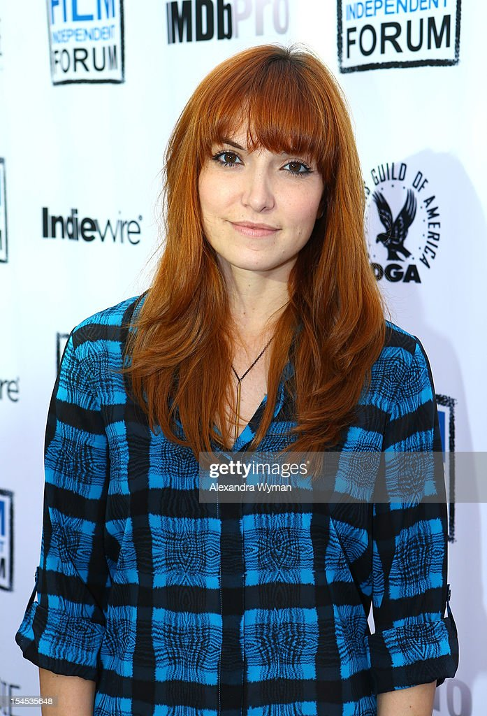 Writer/Director Lorene Scafaria attends the Film Independent Film Forum at Directors Guild of America on October 21, 2012 in Los Angeles, California.