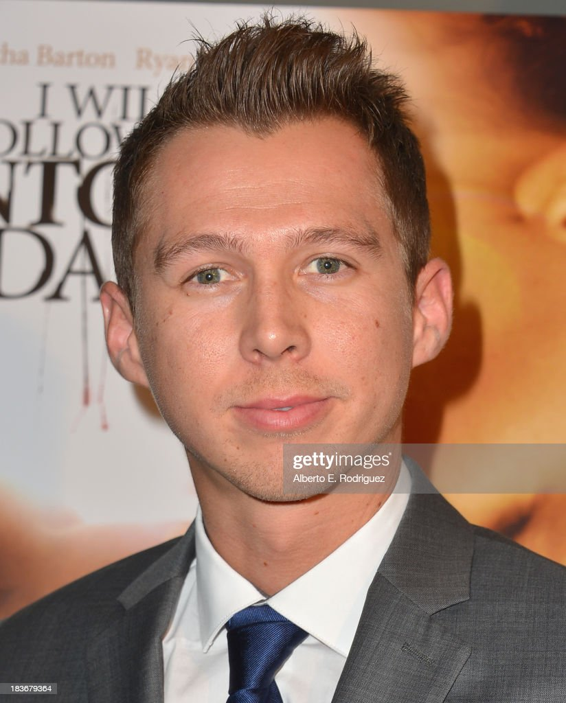 Writer/director Mark Edwin Robinson attends the premiere of Epic Pictures' 'I Will Follow You Into The Dark' at the Landmark Theater on October 8, 2013 in Los Angeles, California.