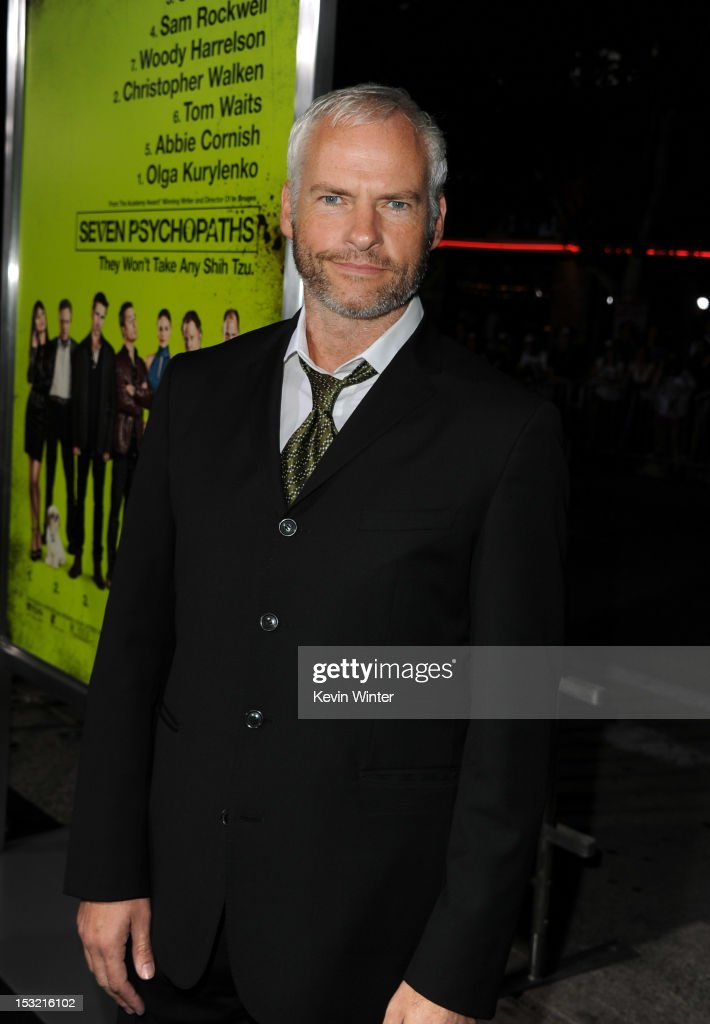 Writer/director <a gi-track='captionPersonalityLinkClicked' href=/galleries/search?phrase=Martin+McDonagh&family=editorial&specificpeople=651423 ng-click='$event.stopPropagation()'>Martin McDonagh</a> arrives at the premiere of CBS Films' 'Seven Psychopaths' at Mann Bruin Theatre on October 1, 2012 in Westwood, California.