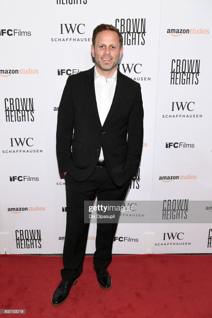 Writer/director Matt Ruskin attends the 'Crown Heights' New York premiere at Metrograph on August 15, 2017 in New York City.