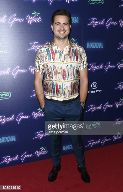 Writer/director Matt Spicer attends The New York premiere of 'Ingrid Goes West' hosted by Neon at Alamo Drafthouse Cinema on August 8 2017 in the...