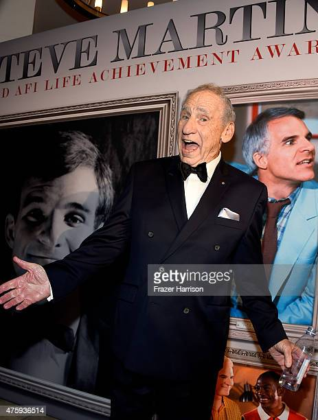 Writer/director Mel Brooks attends the after party for the 2015 AFI Life Achievement Award Gala Tribute Honoring Steve Martin at the OHM Nightclub on...