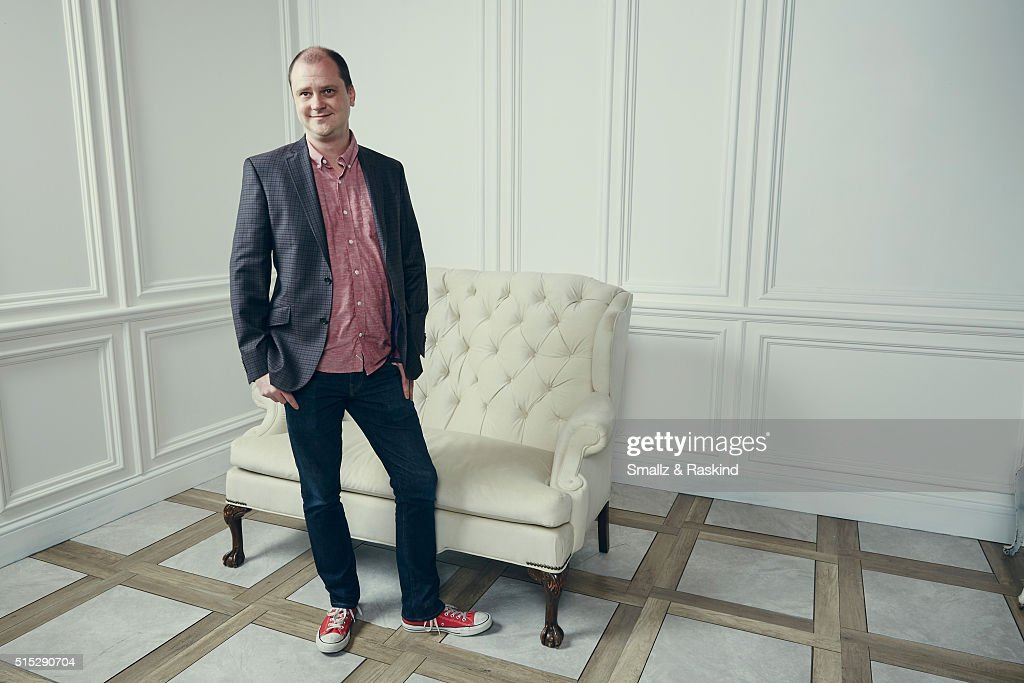 Writer/director Mike Flanagan of 'Hush' is photographed in the Getty Images SXSW Portrait Studio powered by Samsung at the Samsung Studio on March 12...