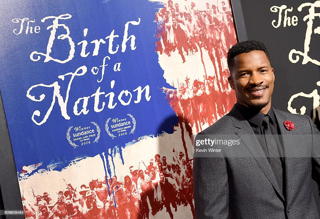 Writer/director Nate Parker attends the premiere of Fox Searchlight Pictures' 'The Birth of a Nation' at ArcLight Cinemas Cinerama Dome on September 21, 2016 in Hollywood, California.