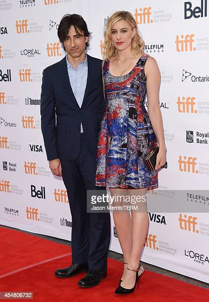 Writer/Director Noah Baumbach and actress Greta Gerwig attend the 'While We're Young' premiere during the 2014 Toronto International Film Festival at...