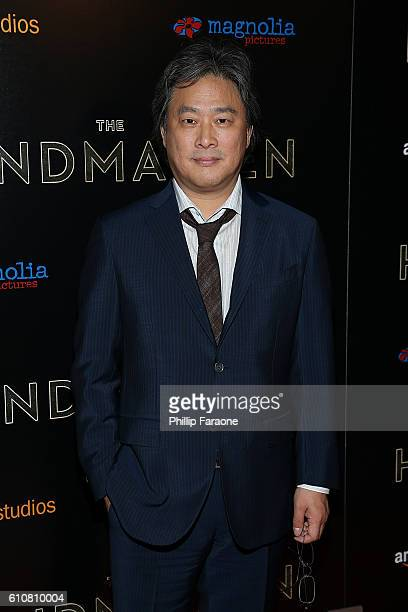 Writer/director Park Chanwook attends the premiere of Amazon Studios' 'The Handmaiden' at ArcLight Hollywood on September 27 2016 in Hollywood...