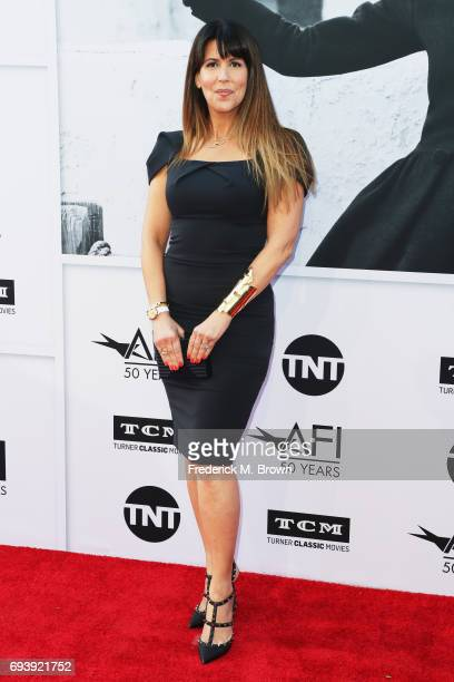 Writerdirector Patty Jenkins arrives at American Film Institute's 45th Life Achievement Award Gala Tribute to Diane Keaton at Dolby Theatre on June 8...