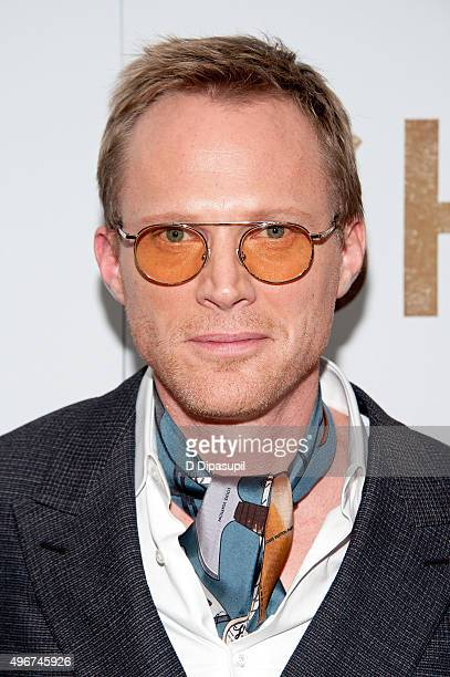 Writer/director Paul Bettany attends the 'Shelter' New York premiere at The Whitney Museum of American Art on November 11 2015 in New York City